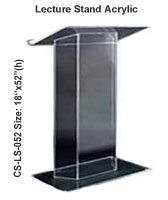 Lecture Stand Acrylic