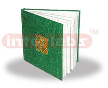 GREEN LEATHERITE JOURNAL: